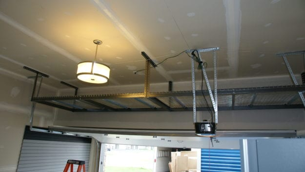Ceiling storage solutions
